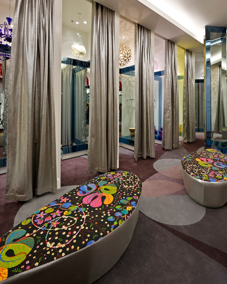Fitting Room Designs For Retail: Urban Spaces Design Co Inc